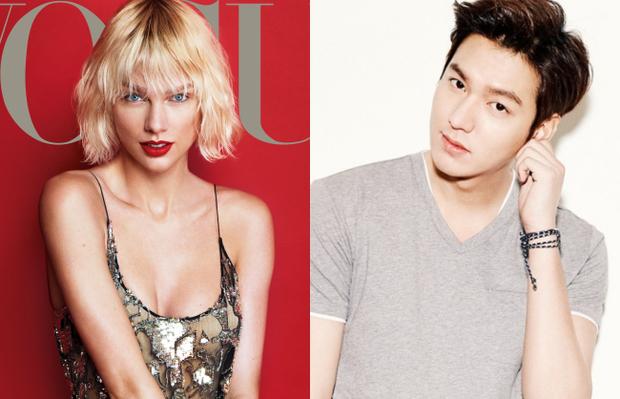 Hết Zac Efron, Taylor Swift giờ lại bị đồn để ý đến cả Lee Min Ho - Ảnh 1.
