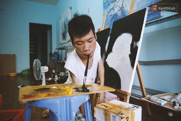 Gặp chàng trai Việt vẽ tranh bằng miệng trong phim được đề cử tranh giải Oscar 2016 - Ảnh 10.