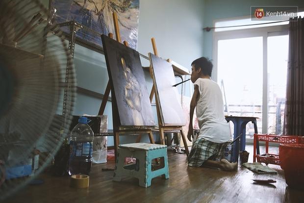 Gặp chàng trai Việt vẽ tranh bằng miệng trong phim được đề cử tranh giải Oscar 2016 - Ảnh 3.