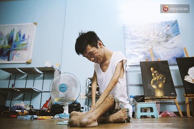 Gặp chàng trai Việt vẽ tranh bằng miệng trong phim được đề cử tranh giải Oscar 2016 - Ảnh 14.