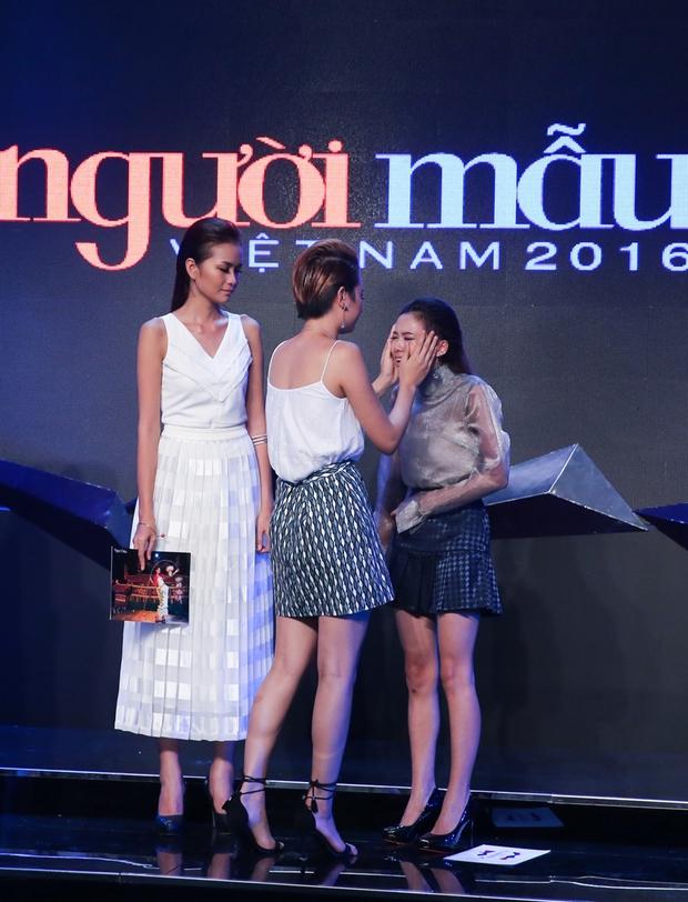 Next Top Model: Fung La suy sụp, gào khóc khi Thùy Trâm ra về - Ảnh 6.