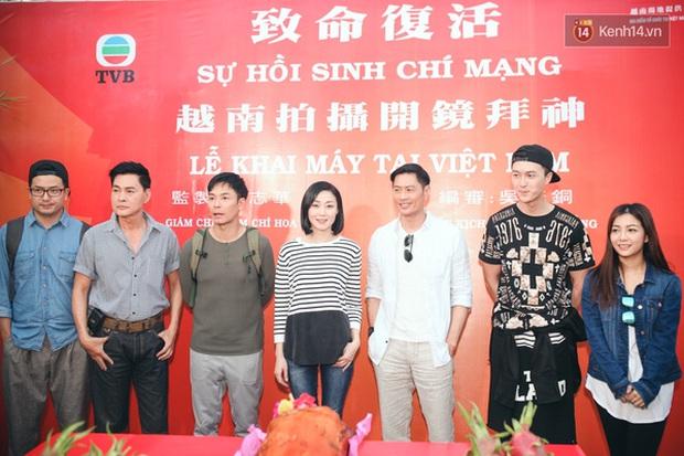 Sao TVB Quách Tấn An, Huỳnh Đức Bân, Chu Thần Lệ được fan bắt gặp quay phim tại Chợ Lớn - Ảnh 15.