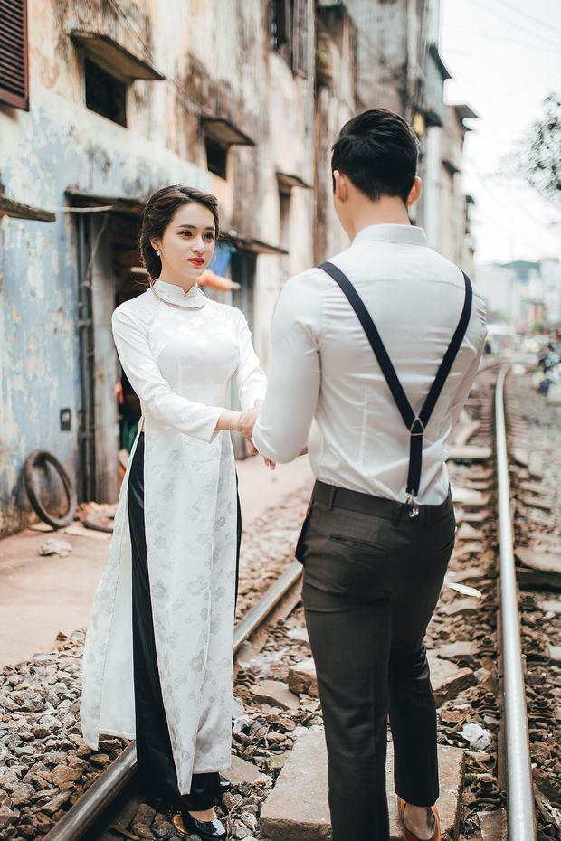 Hương Giang Idol diện áo dài, hóa phụ nữ Hà Nội xưa - Ảnh 7.