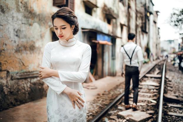 Hương Giang Idol diện áo dài, hóa phụ nữ Hà Nội xưa - Ảnh 8.