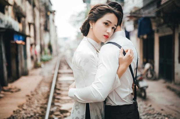 Hương Giang Idol diện áo dài, hóa phụ nữ Hà Nội xưa - Ảnh 5.