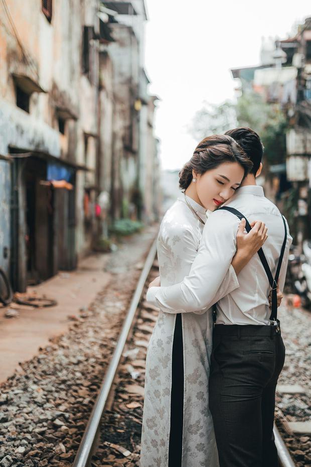 Hương Giang Idol diện áo dài, hóa phụ nữ Hà Nội xưa - Ảnh 6.