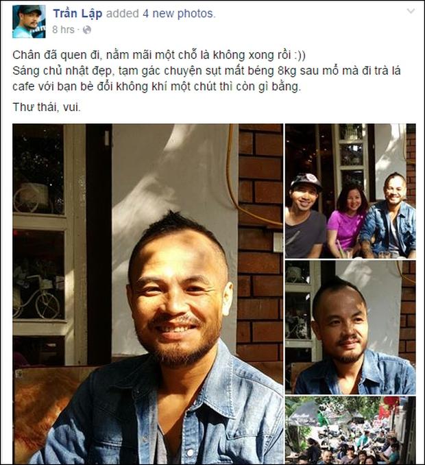 Rocker Trần Lập đã trải qua hành trình chiến đấu với ung thư đầy lạc quan và ý nghĩa! - Ảnh 10.