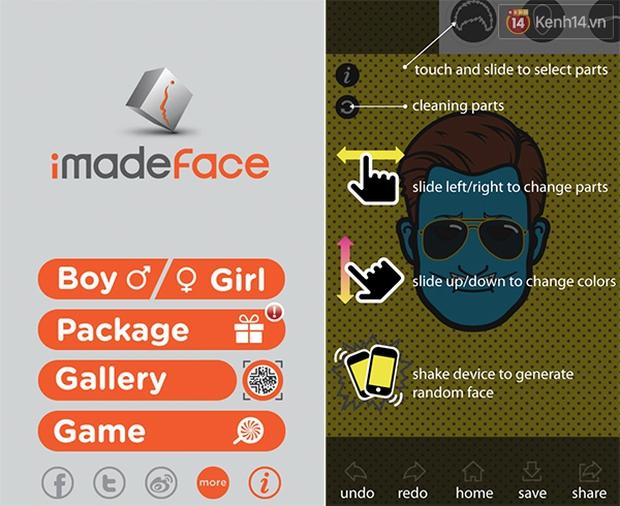 Lại nở rộ trào lưu ảnh đại diện phong cách hoạt hình với ứng dụng iMadeFace - Ảnh 1.