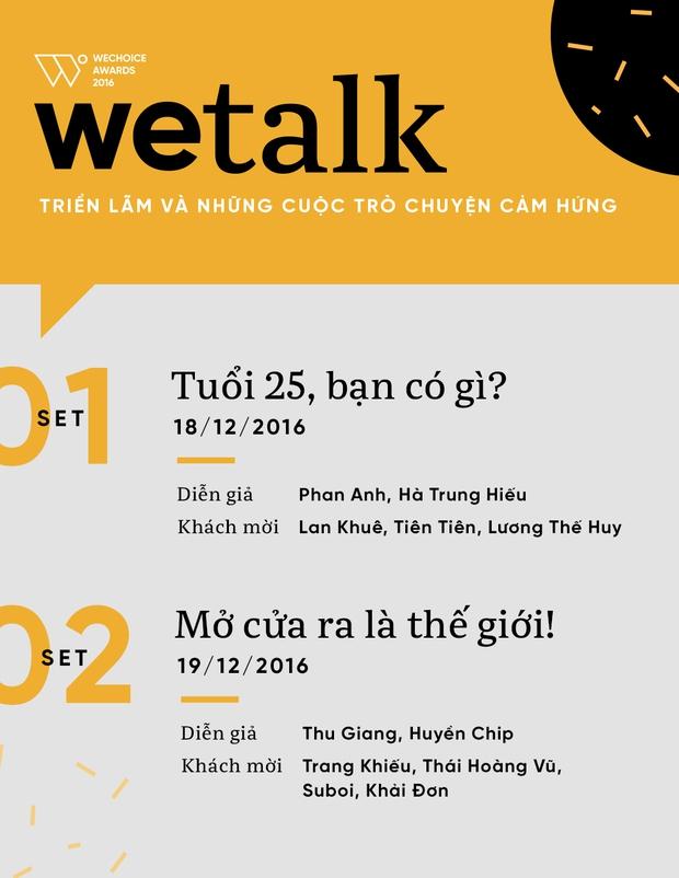 Phan Anh, Suboi, Huyền Chip... chính là dàn khách mời siêu khủng của WeTalk năm nay! - Ảnh 5.