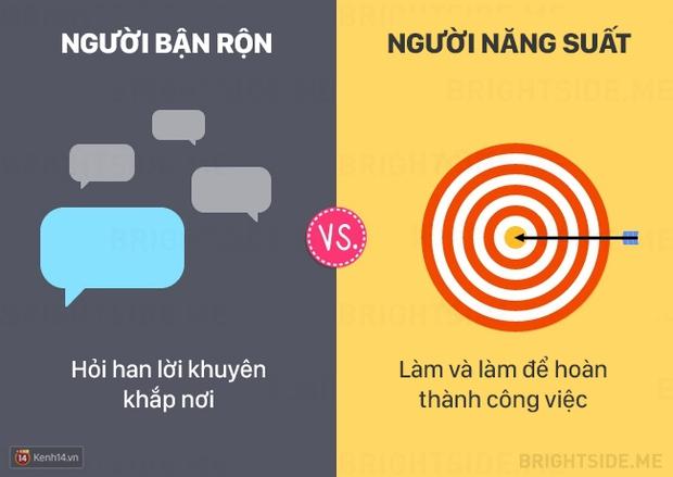 13 khác biệt giữa người bận rộn và người làm việc năng suất - Ảnh 13.