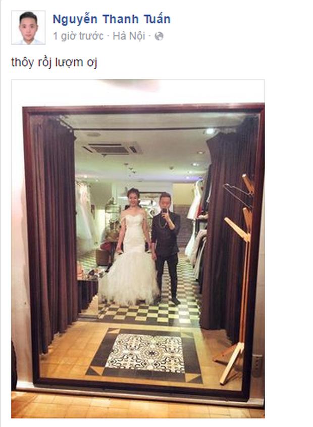 Đăng ảnh thử váy cưới, cặp đôi Trâm Anh và Justa Tee sắp kết hôn? - Ảnh 1.
