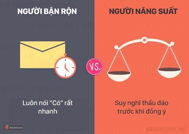 13 khác biệt giữa người bận rộn và người làm việc năng suất - Ảnh 3.