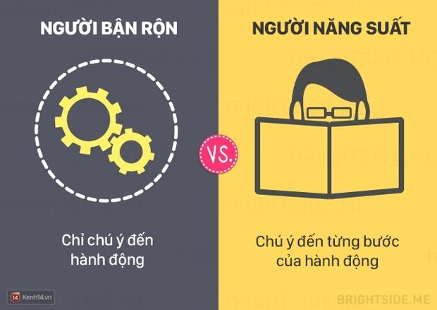 13 khác biệt giữa người bận rộn và người làm việc năng suất - Ảnh 4.