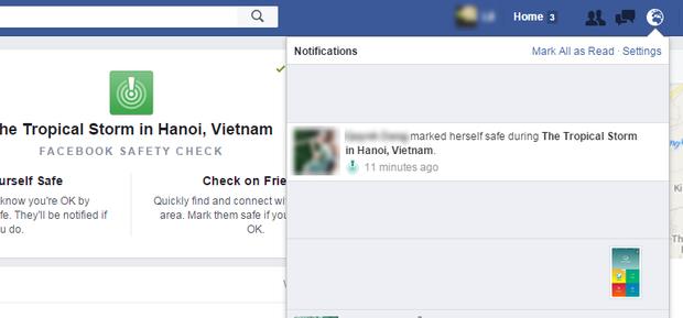 Sau bão số 3, chức năng đánh dấu an toàn của Facebook lần đầu tiên được mở tại Việt Nam - Ảnh 3.