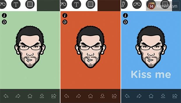 Lại nở rộ trào lưu ảnh đại diện phong cách hoạt hình với ứng dụng iMadeFace - Ảnh 5.