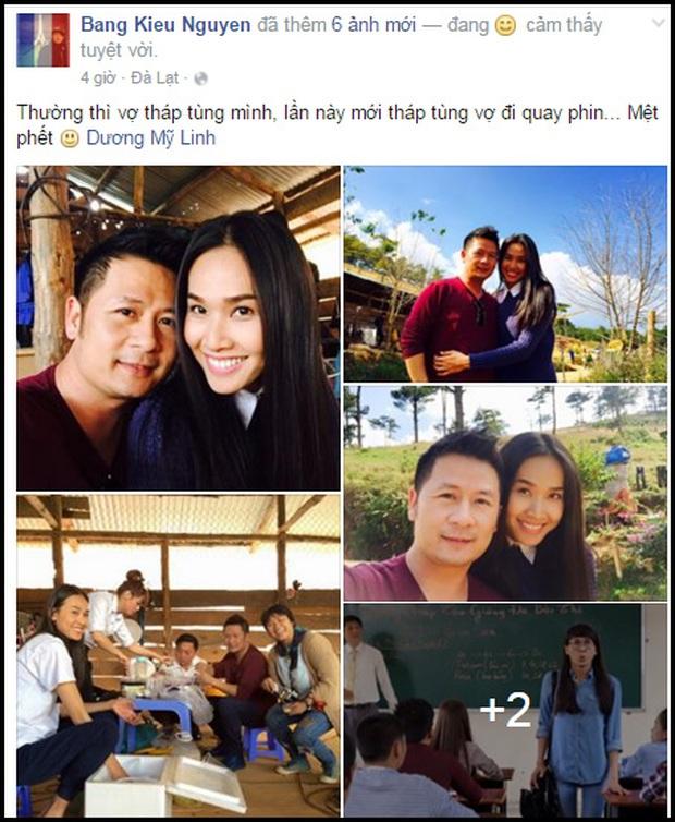 Bằng Kiều tung ảnh tình cảm cùng Dương Mỹ Linh, xóa tin đồn rạn nứt - Ảnh 2.