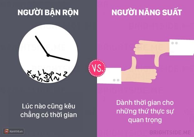 13 khác biệt giữa người bận rộn và người làm việc năng suất - Ảnh 7.
