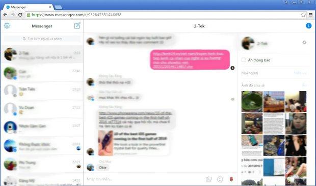 Không làm ứng dụng nhưng Facebook vẫn có Messenger dành riêng máy tính - Ảnh 5.
