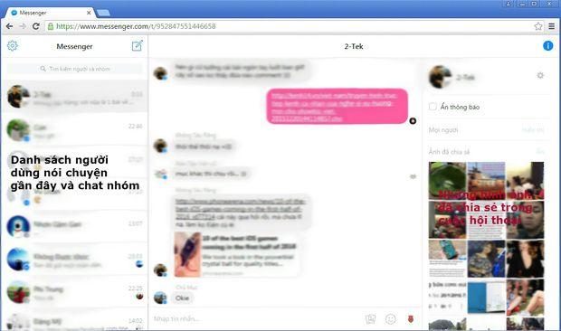 Không làm ứng dụng nhưng Facebook vẫn có Messenger dành riêng máy tính - Ảnh 6.