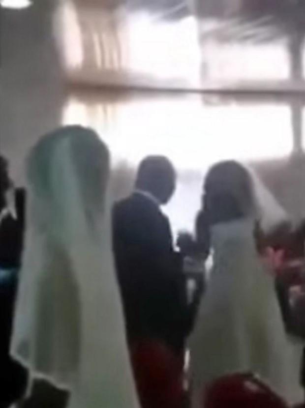 2 cô dâu cùng xuất hiện tại 1 đám cưới, chú rể bị vạch trần là kẻ bắt cá 2 tay - Ảnh 2.