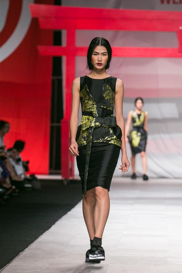 Hoa khôi Nam Em mở màn Tinh khôi - BST cuối cùng của Vietnam International Fashion Week - Ảnh 5.