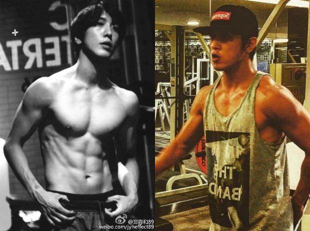 Những nghệ sĩ nam Hàn không thể ngừng phanh áo, khoe múi bụng săn chắc - Ảnh 23.