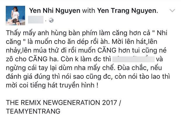 Yến Nhi mạnh mẽ đáp trả khi chị gái Yến Trang bị một bộ phận cư dân mạng chê bai - Ảnh 4.
