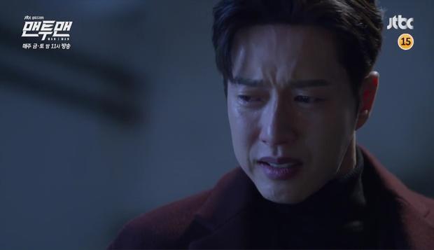 Park Hae Jin khóc tức tưởi vì mất đi một người quan trọng trong Man to Man - Ảnh 5.
