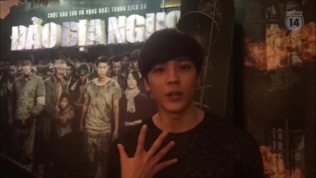 Clip: Khán giả Việt xúc động mạnh sau khi xem Đảo Địa Ngục - Ảnh 5.