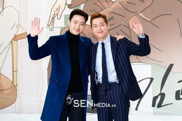 Hôn nhau 3 lần, Nam Goong Min muốn cùng Junho giật giải Cặp đôi đẹp nhất - Ảnh 1.