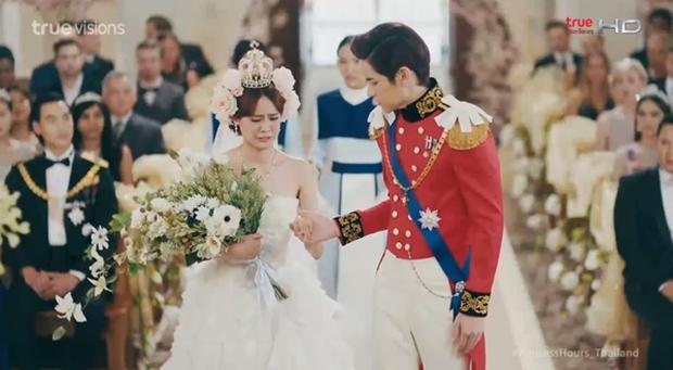 Hoàng Cung bản Thái: Kết hôn cũng phải dùng phao, chỉ có thể là thái tử phi Pattie! - Ảnh 2.