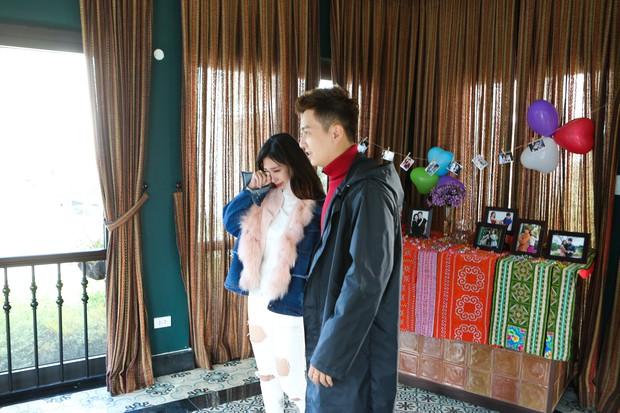 Hết sinh nhật bất ngờ, Ngô Kiến Huy lại khiến Khổng Tú Quỳnh bật khóc vì món quà này! - Ảnh 3.