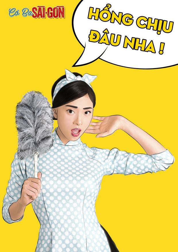 Hết tuyên truyền nữ quyền, các mỹ nhân Cô Ba Sài Gòn lại nhí nhảnh với phong cách pop-art - Ảnh 5.