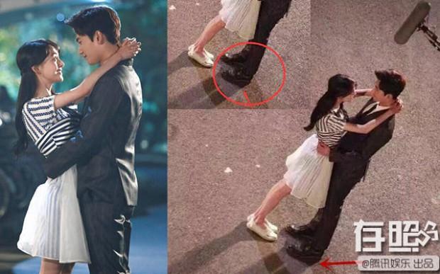 Ngã ngửa khi vén màn bí mật về cảnh hôn lãng mạn trong phim Hoa Ngữ - Ảnh 3.