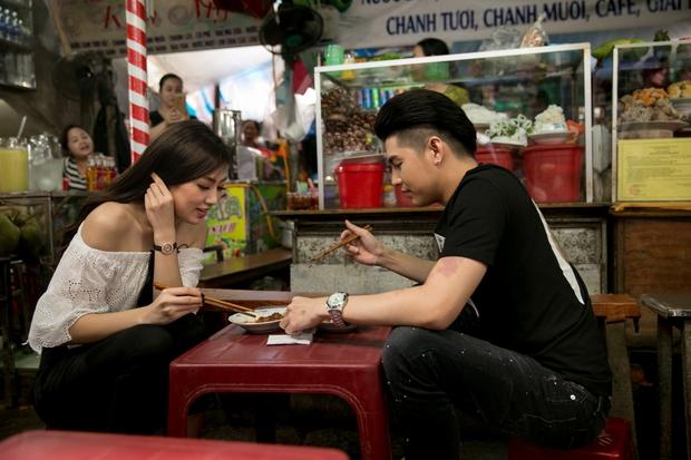 Noo Phước Thịnh và Á hậu Tú Anh làm náo loạn chợ Đông Ba (Huế) - Ảnh 7.