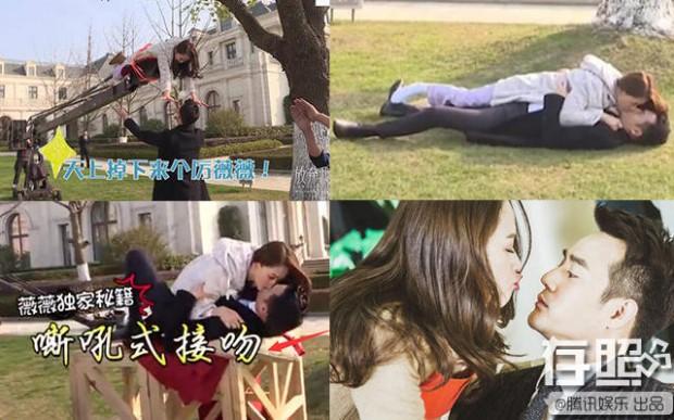 Ngã ngửa khi vén màn bí mật về cảnh hôn lãng mạn trong phim Hoa Ngữ - Ảnh 4.