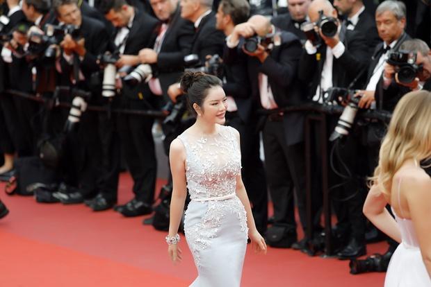 Lý Nhã Kỳ diện cây hàng hiệu hơn 4 tỷ lộng lẫy trên thảm đỏ LHP Cannes - Ảnh 7.