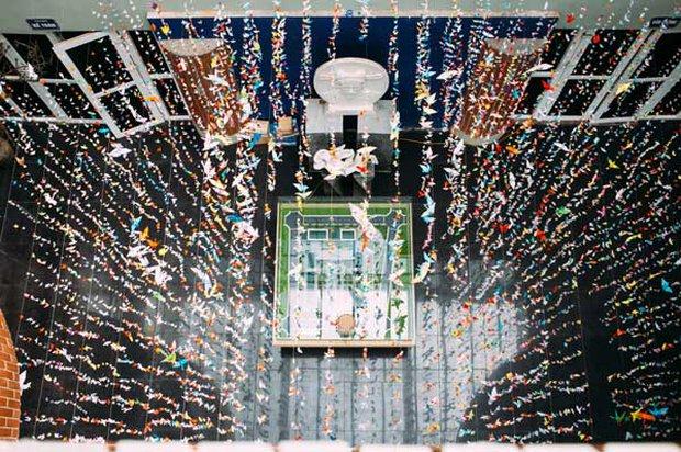 Trường Lương Thế Vinh đẹp như cổ tích với hàng nghìn con hạc giấy gửi đến thầy Văn Như Cương - Ảnh 11.