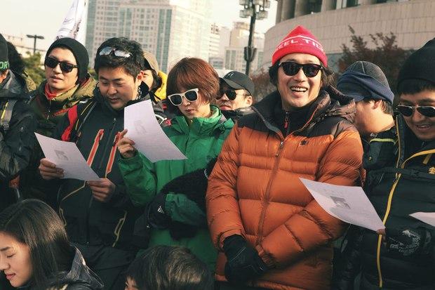 Trót hứa nên phải làm, tài tử Hàn Quốc này phải đi bộ 577 km xuyên nước Hàn! - Ảnh 14.
