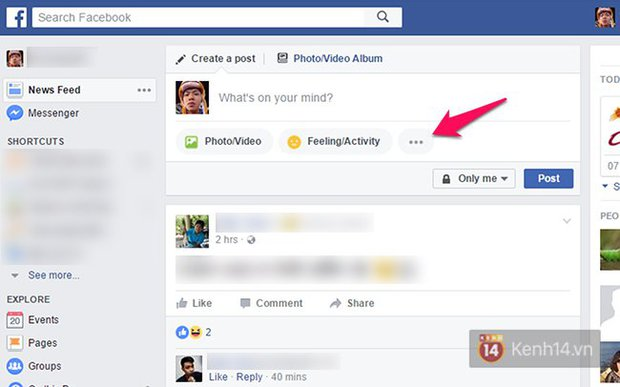 Facebook nền web vừa cập nhật tính năng live stream, giao diện hộp thư cũng thay đổi - Ảnh 2.