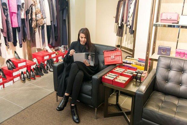 Thanh Hằng tất bật chuẩn bị để xuất hiện trên hàng ghế đầu show thời trang tại Milan Fashion Week - Ảnh 1.