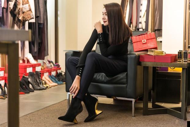 Thanh Hằng tất bật chuẩn bị để xuất hiện trên hàng ghế đầu show thời trang tại Milan Fashion Week - Ảnh 4.