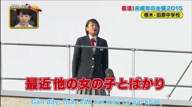 Đoạn video hot nhất mạng xã hội: nữ sinh Nhật Bản bắc loa, tỏ tình người yêu trước toàn trường - Ảnh 2.