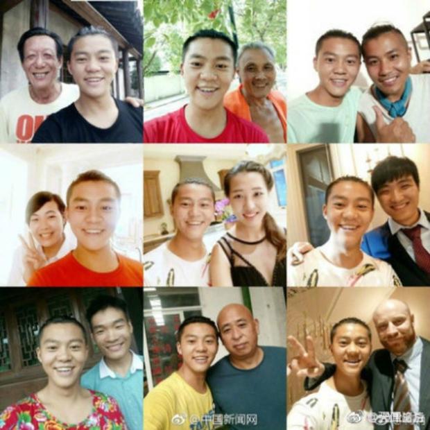 Mong thành diễn viên nổi tiếng, anh chàng selfie cùng hơn 3.000 người lạ - Ảnh 1.