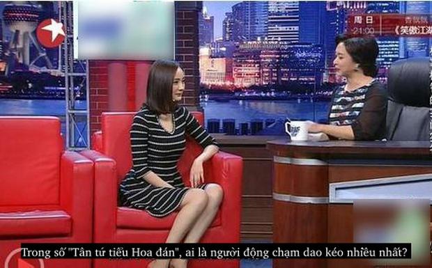 Dương Mịch đáp trả câu hỏi đã động chạm dao kéo cực xuất sắc và khôn khéo! - Ảnh 3.