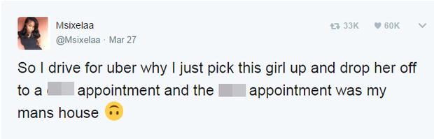 """Nữ tài xế Uber """"khóc không ra nước mắt"""" khi phát hiện ra danh tính của vị khách đang ngồi trên xe - Ảnh 2."""