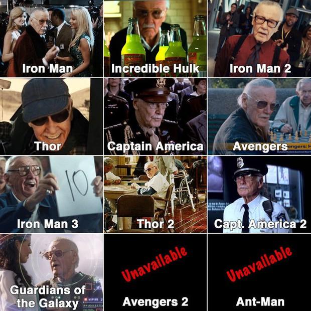 Marvel tiết lộ bí mật về những vai cameo của Stan Lee - Ảnh 1.