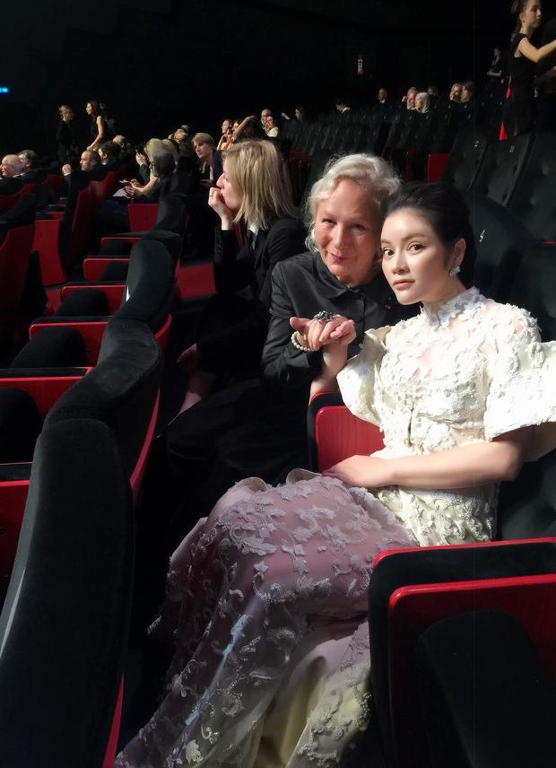 Không thua chị kém em, Lý Nhã Kỳ lộng lẫy như bà hoàng trên thảm đỏ khai màn LHP Cannes 2017 - Ảnh 10.