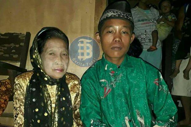Bị gia đình ngăn cấm, cặp đôi vợ 71, chồng 16 tuổi đòi tự tử để được kết hôn với nhau - Ảnh 1.