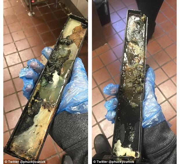 Chiếc khay đựng kem cáu bẩn McDonalds: Nhân viên bị đuổi việc vì chia sẻ bức hình lên mạng - Ảnh 2.